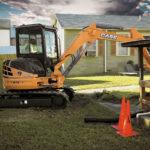 CX55B mini excavator