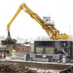 Liebherr EP 954 C Litronic Electric Scrap Handler Groff Equipment