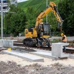 Liebherr R 914 Rail Litronic Crawler Excavator Groff Equipment