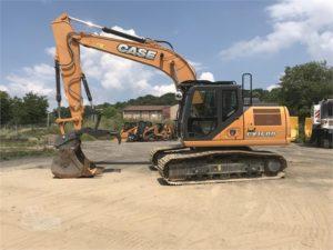 crawler excavator case