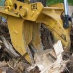 CBI Quick-Coupling Stump Shear Groff Equipment