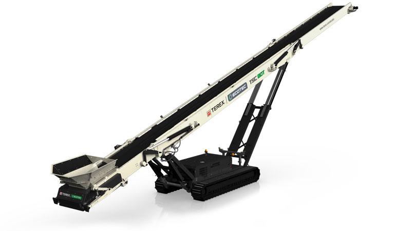 Terex TSC80T Conveyor Groff Equipment