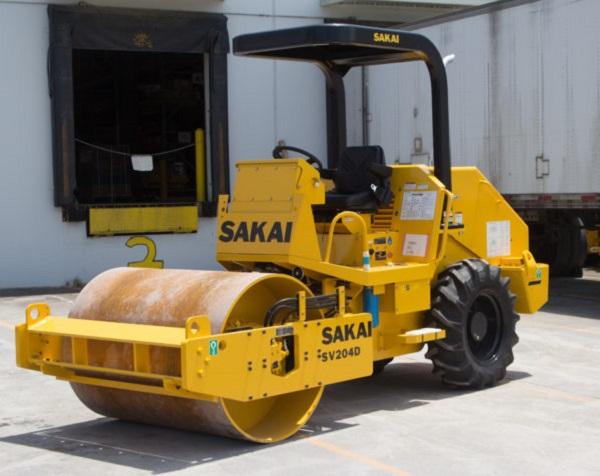Sakai SV204D Soil Compactor