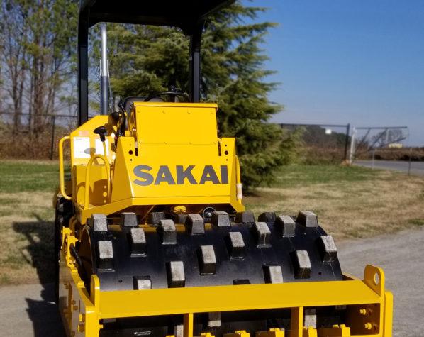 Sakai SV204T Soil Compactor